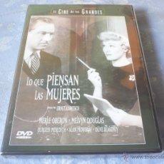 Cine: LO QUE PIENSAN LAS MUJERES ( ERNST LUBITSCH ) DVD NUEVA ¡PRECINTADA! COMEDIA ROMANTICA CLASICA. Lote 42810273