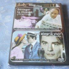 Cine: DILLINGER HA MUERTO ( MARCO FERRERI ) + QUE ALEGRIA VIVIR ( RENE CLEMENT ) DVD NUEVO ¡PRECINTADO!. Lote 42841791