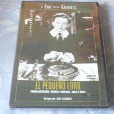 Cine: EL PEQUEÑO LORD ( JOHN CROMWELL ) DVD NUEVO ¡PRECINTADO! CLASICA CINE DE LOS GRANDES. Lote 42841833