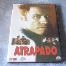 Cine: ATRAPADO ( JOHN TRAVOLTA ) DVD NUEVA ¡PRECINTADA! INTRIGA THRILLER. Lote 42858457