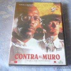 Cine: CONTRA EL MURO ( SAMUEL L. JACKSON KYLE MACLACHLAN ) DVD NUEVA ¡PRECINTADA! INTRIGA THRILLER. Lote 42858509