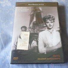 Cine: MOTIN ( EDWARD DMYTRYK MARK STEVENS Y ANGELA LANSBURY ) DVD NUEVA ¡PRECINTADA! CLASICA. Lote 42858722