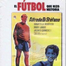 Cine: DVD SAETA RUBIA ALFREDO DI STÉFANO (PRECINTADO). Lote 42902471