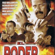 Cine: DVD EL PODER DEL DESTINO FRED WILLIAMSON - RICHARD NORTON. Lote 160323073