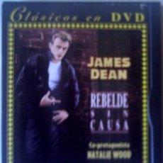 Cine: DVD REBELDE SIN CAUSA JAMES DEAN - NATALIE WOOD. Lote 42938742