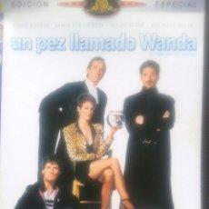 Cine: DVD - UN PEZ LLAMADO WANDA ** EDICION ESPECIAL *** CON JOHN CLEESE JAMIE LEE CURTIS, KEVIN KLINE ***. Lote 43005336