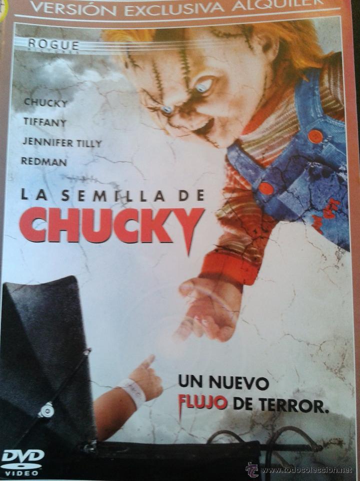 LA SEMILLA DE CHUCKY ****JENNIFER TILLY *****DESCATALOGADA ***** (Cine - Películas - DVD)