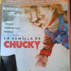 Cine: LA SEMILLA DE CHUCKY ****JENNIFER TILLY *****DESCATALOGADA *****. Lote 139792473