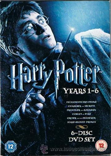DVD PACK HARRY POTTER (6 DVD´S) (Cine - Películas - DVD)