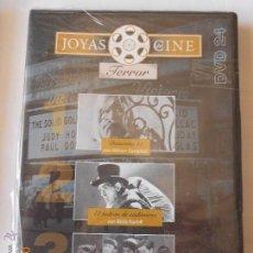 Cine: CINE DVD: JOYAS DEL CINE 24 DEMENTIA 13 - EL LADRON DE CADAVERES - LA CASA ENCANTADA - TERROR NJ.B. Lote 43186026