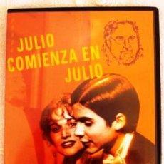 Cine: DVD JULIO COMIENZA EN JULIO 1979 PELICULA CHILENA 120MINUTOS PELICULA DE CULTO. DIFICIL DE ENCONTRAR. Lote 43190539