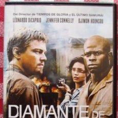 Cine: DVD DIAMANTES DE SANGRE CON LEONARDO DICAPRIO. Lote 43221349