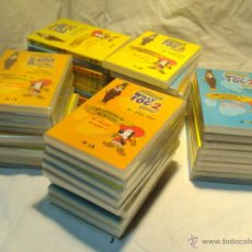 Cine: COLECCION DE LA VUELTA AL MUNDO DE WILLY FOG Y D'ARTACAN Y LOS 3 MOSQUEPERROS - 49 DVDS. Lote 43221962
