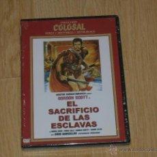 Cine: EL SACRIFICIO DE LAS ESCLAVAS DVD NUEVA PRECINTADA. Lote 243772955