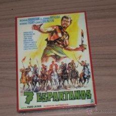 Cine: 7 ESPARTANOS DVD RICHARD HARRISON NUEVA PRECINTADA. Lote 211572021