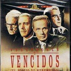 Cine: DVD VENCEDORES O VENCIDOS SPENCER TRACY BURT LANCASTER (PRECINTADO). Lote 102195344