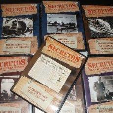 Cine: DOCUMENTAL DVD SECRETOS DE LA 2ªGUERRA MUNDIAL BBC. Lote 43520682