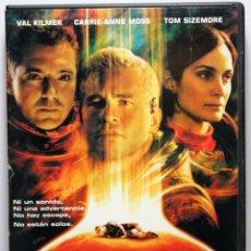 Cine: DVD PLANETA ROJO - VAL KILMER / CARRIE-ANNE MOSS / TOM SIZEMORE. Lote 43531062