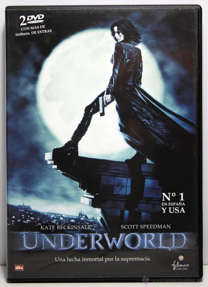DVD UNDERWORLD , KATE BECKINSALE / SCOTT SPEEDMAN , 2 DISCOS (Cine - Películas - DVD)
