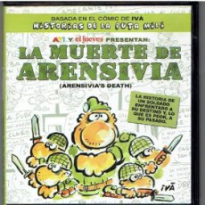Cine: DVD LA MUERTE DE ARENSIVIA, HISTORIAS DE LA PUTA MILI. Lote 43556455
