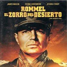 Cine: DVD ROMMEL EL ZORRO DEL DESIERTO JAMES MASON (PRECINTADO). Lote 43667974
