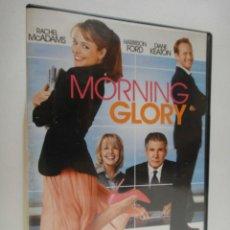 Cine: MORNING GLORY PELICULA DVD BUEN ESTADO HARRISON FORD RACHEL MCADAMS LA DE DIARIO DE NOA. Lote 49099478