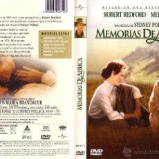 Cine: MEMORIAS DE AFRICA. Lote 43817948