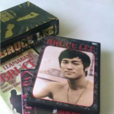 Cine: LOTE , PACK DE 3 DVD BRUCE LEE EDICION LIMITADA DORADA. Lote 43899739