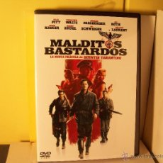 Cine: MALDITOS BASTARDOS - BRAD PITT - DVD. Lote 198394797
