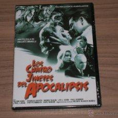 Cine: LOS CUATRO JINETES DEL APOCALIPSIS DVD GLENN FORD NUEVA PRECINTADA. Lote 176977184