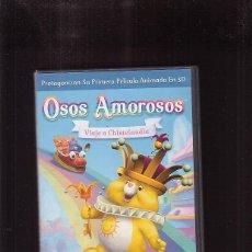 Cine: OSOS AMOROSOS, VIAJE A CHISTELANDIA - DVD -. Lote 44072532