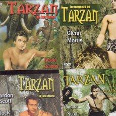 Cine: TARZAN, LOTE 4 DVD - VER TITULOS EN FOTOS. Lote 44086785