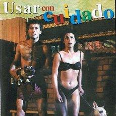 Cine: DVD USAR CON CUIDADO WILLIAM BRANT. Lote 44110788