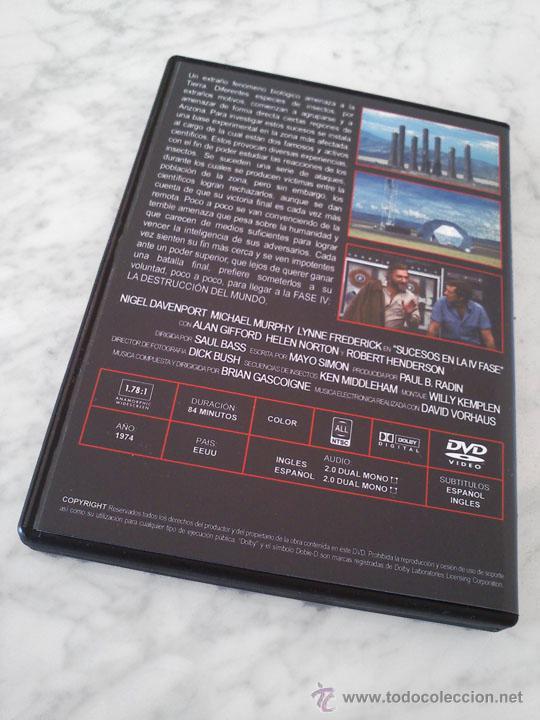 Cine: SUCESOS EN LA IV FASE (PHASE IV) - 1974 - SAUL BASS - NIGEL DAVENPORT - MICHAEL MURPHY - Foto 3 - 194353877