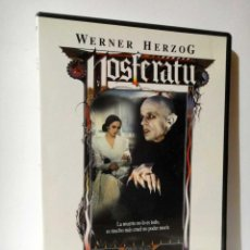 Cine: NOSFERATU WERNER HERZOG PELICULA DVD BUEN ESTADO CON FOLLETO TERROR. Lote 44307222