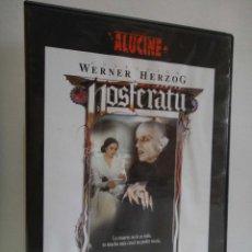 Cine: NOSFERATU WERNER HERZOG PELICULA DVD BUEN ESTADO COLECCION ALUCINE TERROR. Lote 44323238