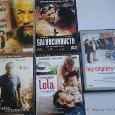 Cine: LOTE 5 TAVERNIER *LA PEQUEÑA LOLA*SALVOCONDUCTO*HOY EMPIEZA TODO*LA VIDA Y NADA MAS*CENTRO TORMENTA. Lote 44396280