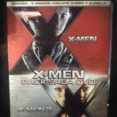 Cine: X-MEN PACK SAGA DVD ( X-MEN 1 Y X-MEN 2 + EXTRAS ). CUATRO DVD. Lote 44438586