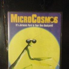 Cine: MICROCOSMOS - DVD DOCUMENTAL - LA VIDA DE LOS INSECTOS. Lote 44438605