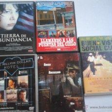 Cine: LOTE 5 FILMS/ WIM WENDERS **LLAMANDO A LAS PUERTAS DEL CIELO, BUENAVISTA SOCIAL CLUB + 3 MÁS**. Lote 44443394