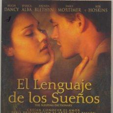 Cine: EL LENGUAJE DE LOS SUEÑOS DVD - EL AMOR LLEGA INCLUSO CUANDO NO QUIERES.... Lote 210804716