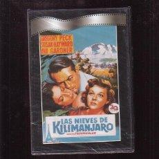 Cine: DVD - LAS NIEVES DEL KILIMANJARO. Lote 44695901