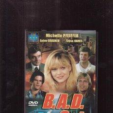 Cine: DVD - B.A.D CATS / ASHER BRAUNER - MICHELLE PFEIFFER. Lote 44697749