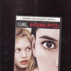 Cine: DVD - GIRL, INTERRUPTED - INOCENCIA INTERRUMPIDA / ANGELINA JOLIE ( VERSION EN INGLES ). Lote 44699212