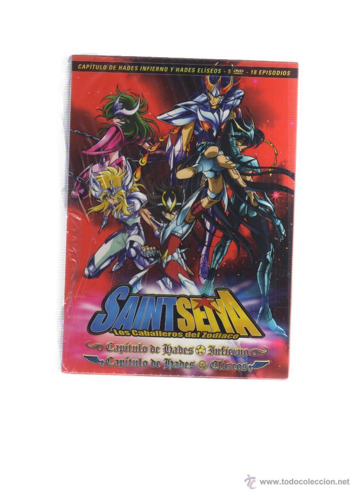 LOTE DE 5 DVDS SAINT SEIYA - LOS CABALLEROS DEL ZODIACO (Cine - Películas - DVD)