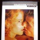 Cine: DVD EYES WIDE SHUT 1999 159M DE STANLEY KUBRICK CON TOM CRUISE, NICOLE KIDMAN, SYDNEY POLLACK,. Lote 44708949