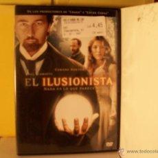 Cine: EL ILUSIONISTA -- DVD. Lote 44715015