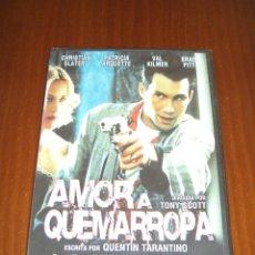 Cine: AMOR A QUEMARROPA (DVD) - CHRISTIAN SLATER - PATRICIA ARQUETTE - VAL KILMER - BRAD PITT. Lote 44745905