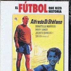 Cine: DVD SAETA RUBIA ALFREDO DI STEFANO (PRECINTADO). Lote 44791127