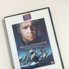 Cine: DVD MASTER & COMMANDER (RUSSELL CROWE). Lote 44798793
